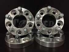 """4 X Wheel Spacers 1.25"""" Adapters 12x1.5 5x114.3 TO 5X127 Fit Mitsubishi Bolt"""