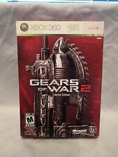 Gears of War 2 Limited Edition (Microsoft Xbox 360) Includes French Art book