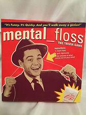 MENTAL FLOSS The Trivia Game Over 1500 Questions 2005 Pressman EUC