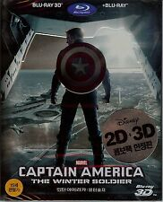 Captain America: The Winter Soldier 3D Limited Edition Embossed SteelBook Korea