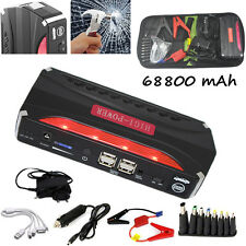 Jump Starter Car Jumper Booster 68800mAh Power Battery Charger for Petrol Laptop