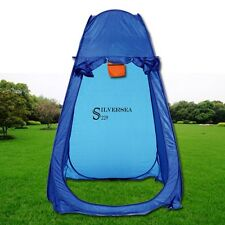 Pro. Blue Foldable Pop UP Tent Beach Bathing Toilet Changing Room for Camping