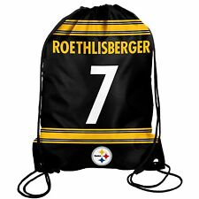 Ben Roethlisberger #7 Pittsburgh Steelers Jersey Back Pack/Sack Drawstring Bag