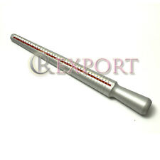 Aluminium Hollow Ring Sizing 1-15 Mandrel Wire Wrapping Tool Jewelers Size Stick