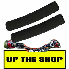 New Black Lever skins / foams Motorcycle Trials Enduro MX Quad ATV more control