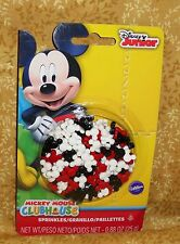 Mickey Mouse Sprinkles,Candy Decorations, Cupcake Toppers,Edible,Wilton.710-4616