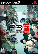 Used PS2 Persona 3: Fes (Independent Starting Version) Japan Import
