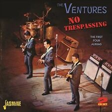 No Trespassing: The First Four Albums * by The Ventures (CD, Jan-2013, 2...