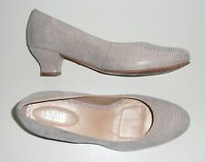 HOTTER SHIMMY patterned brown Leather Low Heel (0.5-1.5 in.) Court shoes NEW 6