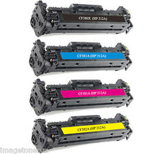 4X Toner Set for HP CF380X 312A LaserJet Pro M476 M476dn M476dw M476nw MFP KCMY
