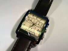 BURBERRY stainless watch BU 1565 stainless leather strap SWISS MADE