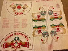 Country classic Christmas goose centerpiece pillow door decorations fabric