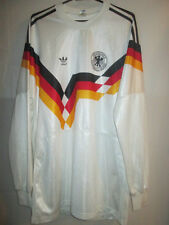 Germany 1989-1991 Home Football Shirt Size Large Long Sleeves /34125