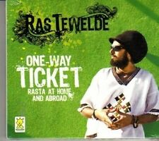 (DG934) Ras Tewelde, One-Way Ticket - 2011 sealed CD