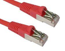 Gc640 - 2 metri CAT6A Rete Ethernet SSTP-LSOH Lead Cavo patch antigroviglio rosso