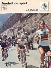 FICHE CARD Glucose Hennie Kuiper coureur cycliste road racing cyclist  70s