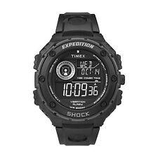 Orologio Timex Vibe T49983 indiglo nero uomo digitale 200 mt vibration alarm