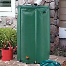 74 Gallon Rain Barrel Outdoor Garden Downspout Water Collection Drum Recycle New