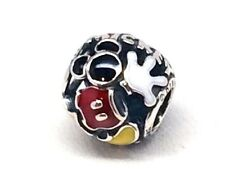 Pandora Disney Mickey Mouse Mania Body Parts Bead Enamel STerling silver charm