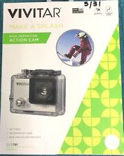 Brand New Vivitar DVR 781 MAKE A SPLASH Action Cam