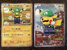 Pokemon Card Japanese XY Luigi Pikachu Promo 295/XY-P 296/XY-P Sealed