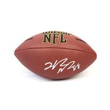 Hakeem Nicks New York Giants Signed NFL Football JSA