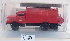 Brekina 1/87 71708 IFA S 4000-1 SKW Feuerwehr Halle DDR OVP #3270