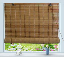 "Bamboo Roll Up Window Blind Sun Shade W32"" x H72"""