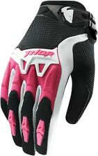 THOR SPECTRUM GLOVES MOTOCROSS ATV OFFROAD MOTORCYCLE MX WOMENS PINK SMALL S15W