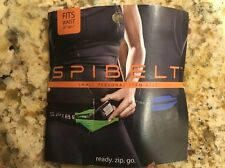 "SPIBELT Small Personal Item Belt Fits Waist 24"" - 40+"" Black"