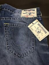 TRUE RELIGION BRAND JEANS MENS SLIM BIG T JEANS SZ 44