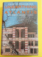 ATLANTIS hardback book archaeological odyssey Lost Continent island of THERA