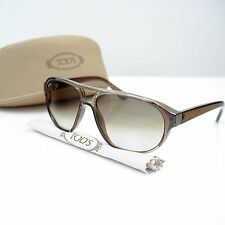 Tod's Men's Aviator Translucent Khaki Sunglasses TO34 95P