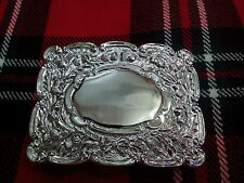 PIPERS MATT THISTLE KILT BELT BUCKLE/SCOTTISH KILT BELT BUCKLE THISTLE MATT/KILT