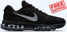 Nike Air Max 2017 Men's Black Silver Running Shoes Sneakers Trainers Size s