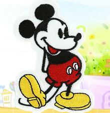 Cute Cartoon Mickeys Mouse Embroidery Cloth Iron On Patch Sew Motif Applique 1PC