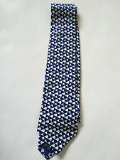 PAUL SMITH  Tie - Blue Patterned   TIE   - 9cm Blade