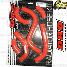 DRC Red Radiator Rad Hose Kit For Suzuki RMZ 250 2015 15 Motocross Enduro New