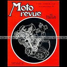 MOTO REVUE N°1629 NSU 250 RENN-MAX GREEVES 250 SILVERSTONE HAZIANIS BICKERS 1963