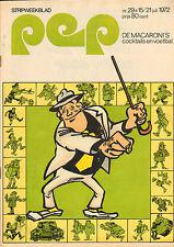 PEP 1972  nr. 29 - NILSSON/TIES KRUIZE/MACARONI'S