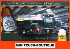 Sternquell Brauerei +++ MAN TG460 LKW mit Gabelstapler