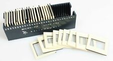 GLASS SLIDES GROUP OF 30 IN B H MICRO FIT SLIDE TRAY