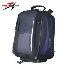 Motorcycle Motorbike Rucksack Cycle Waterproof Bag Backpack Hand Tank Pad Sports