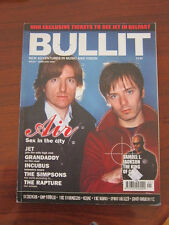 Bullit #1 2004 Air Simpsons Rapture Incubus Stereolab Keane Spiritualized