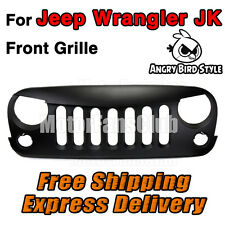 Angry Bird Fronte Opaco Paraurti Grill Grille Per JK Jeep Wrangler 2007-2015