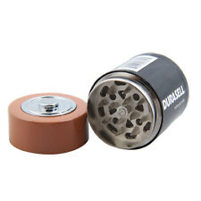 Creative Battery Shaped Herbal Herb Tobacco Grinder Spice Pollen Crusher Fashion