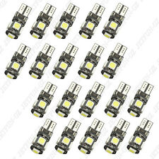 20 X Canbus Error Free White T10 5-SMD 5050 Interior LED Light bulbs W5W 194 168