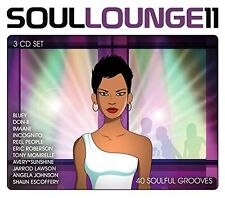 SOUL LOUNGE 11-40 SOULFUL GROOVES 3 CD NEU