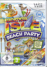 """ Vacation Isle: Beach Party  "" (Wii)"