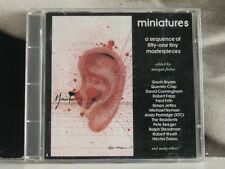 MINIATURES - A SEQUENCE OF FIFTY-ONE TINY MASTERPIECES - CD BY MORGAN FISHER